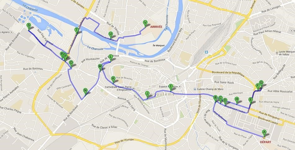 parcours angouleme