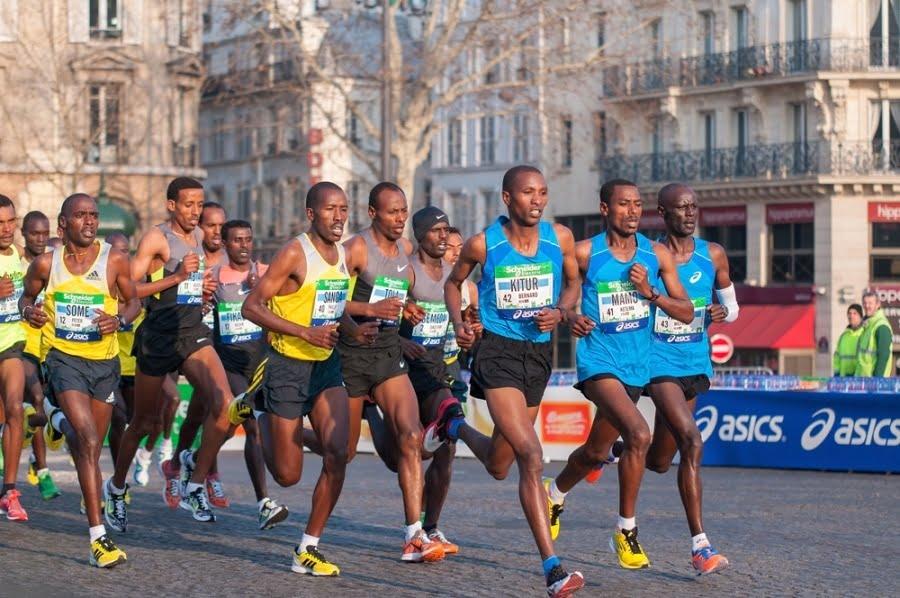 Les Kenyens qui courent