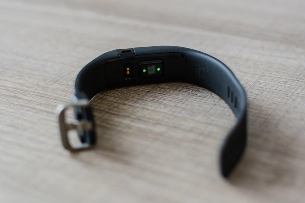 Capteur sous Fitbit charge HR