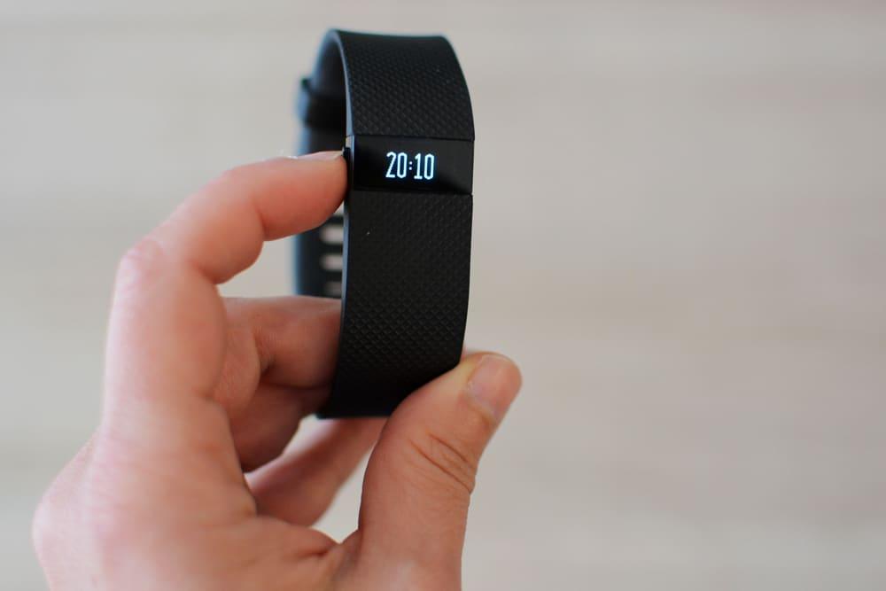 Bracelet de Fitbit charge HR