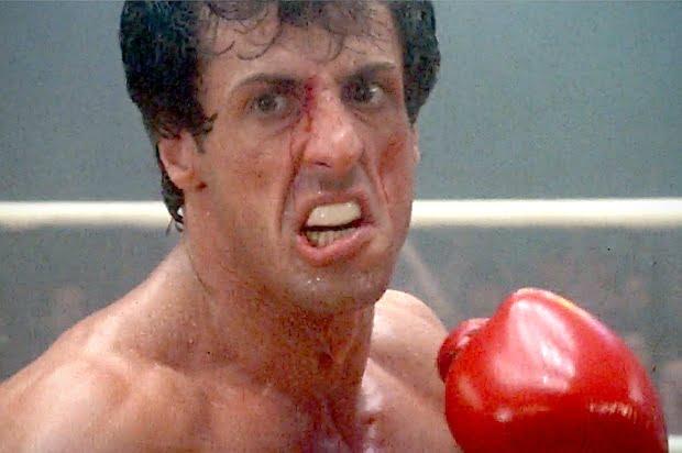 Rocky qui boxe