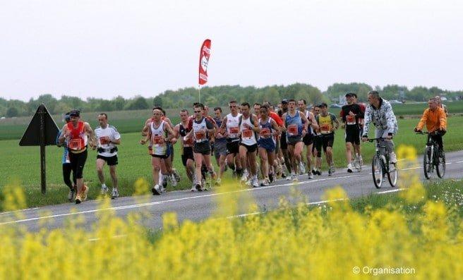Coureurs du marathon de Sénart