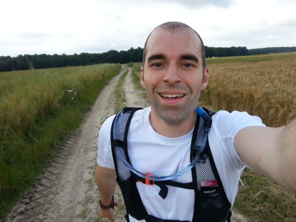 Le selfie en courant pour Ludo de Tortues-runners