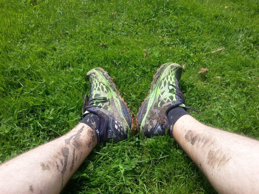 De la boue plein les jambes