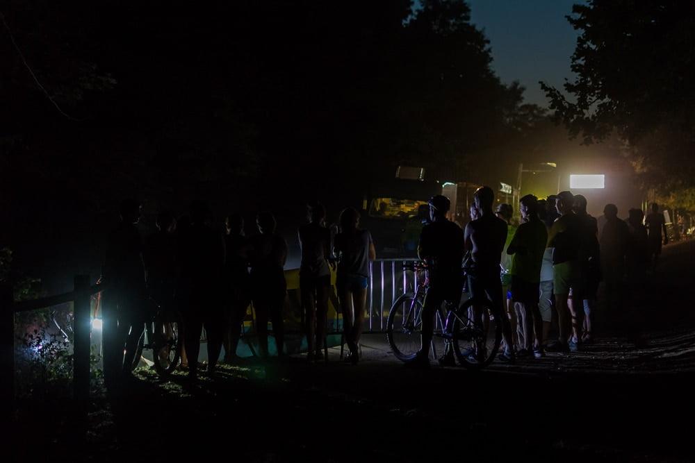 Les VTT dans la nuit