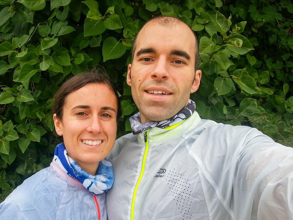 Départ de la course de Santeuil