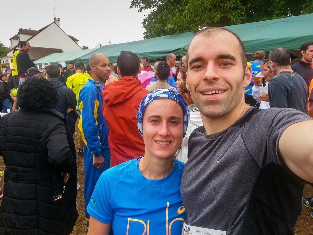 Selfie des Tortues-runners après le trail