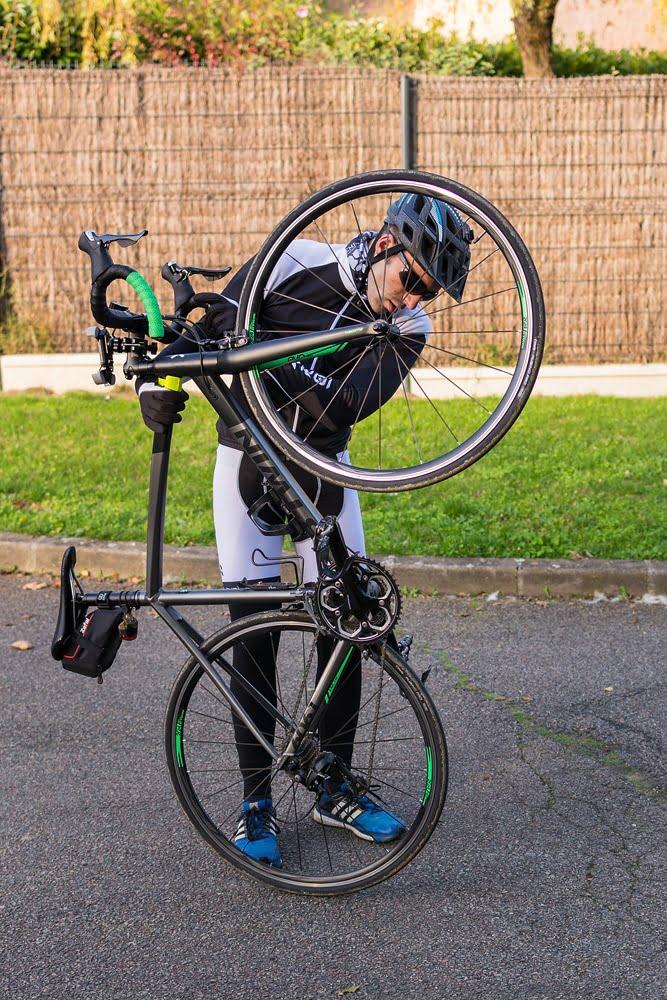 un nouveau cycliste