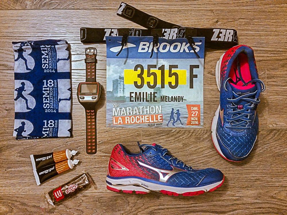 Tout le racepack pour le marathon