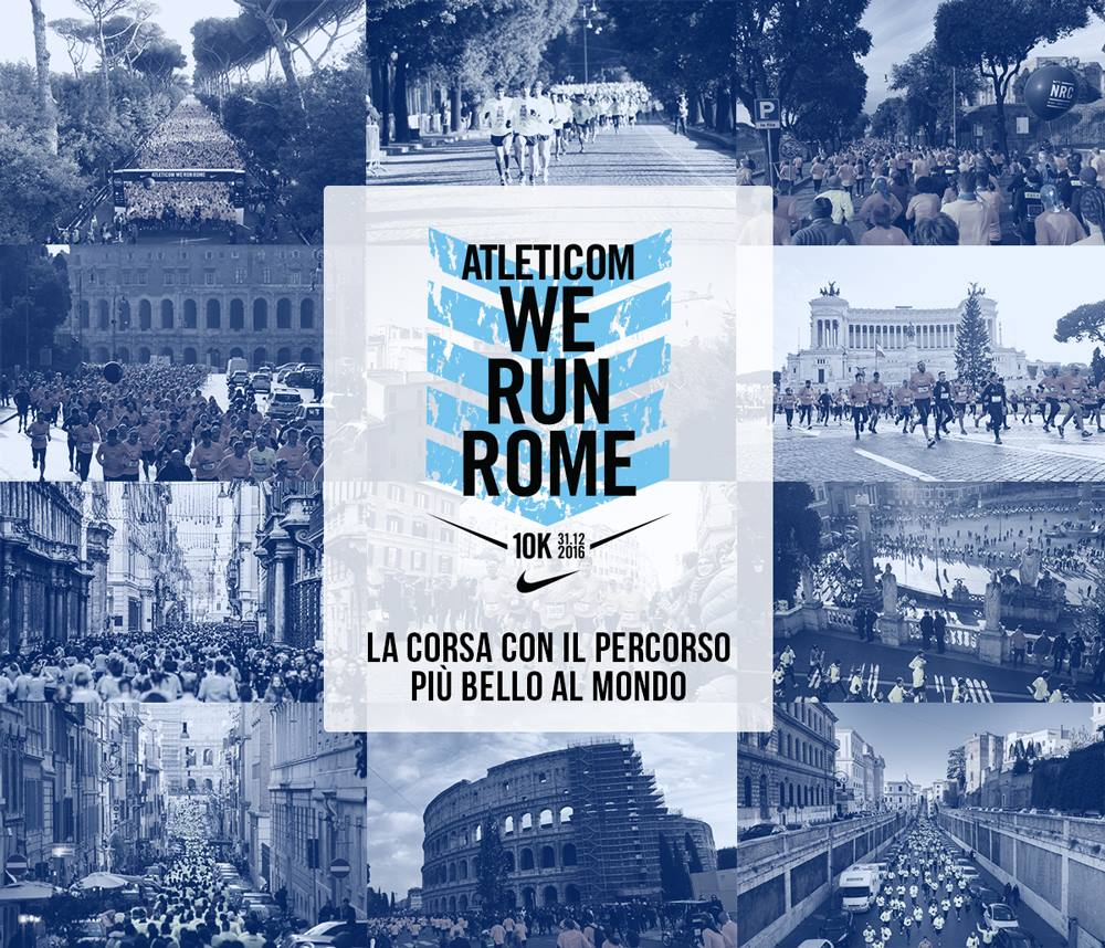 Affiche des 10kms Nike de Rome