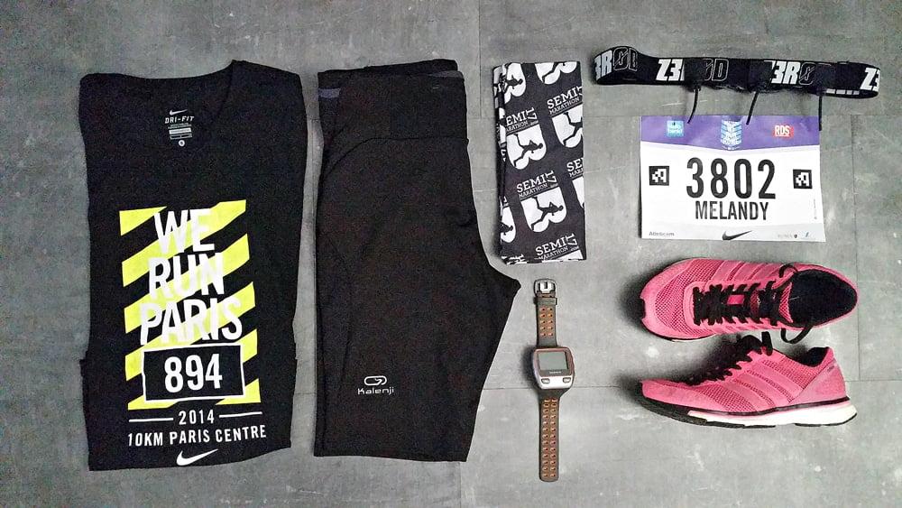 Racepack pour les 10 kms rose