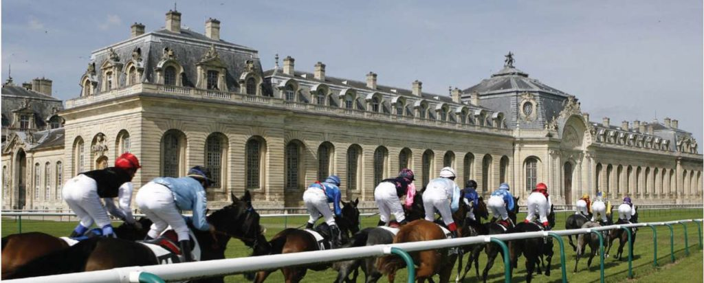 course hippique à Chantilly