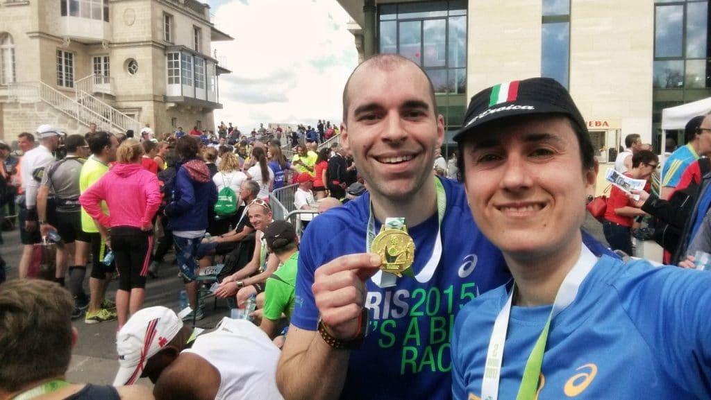 arrivée du marathon de Chantilly