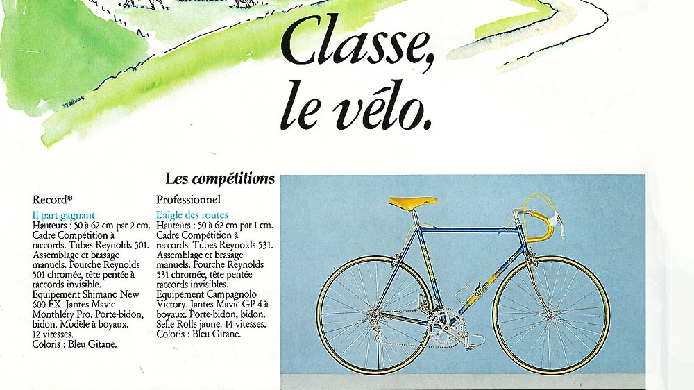 catalogue Gitane 1986