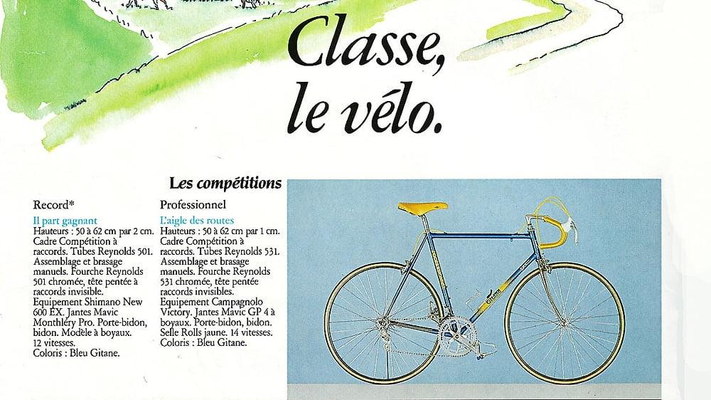 catalogue Gitane 1986
