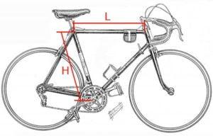 mesurer son vélo