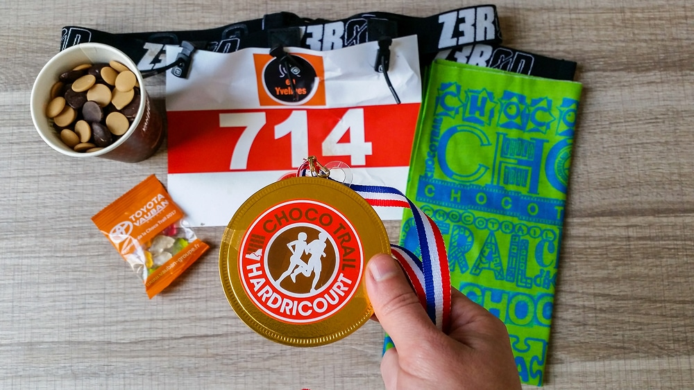 pack coureur chocotrail