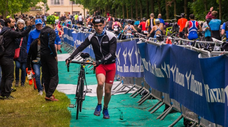 Un premier triathlon royal à Versailles