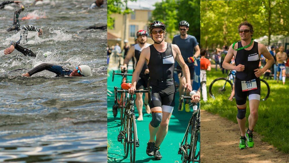 triathlon a la brasse