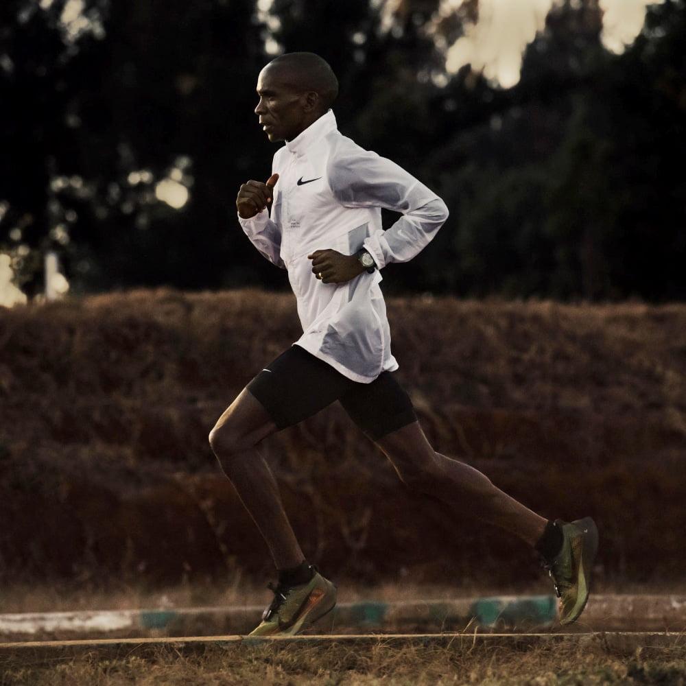Eliud Kipchoge et les Nike Vaporfly