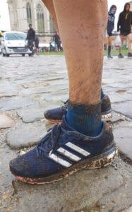 Adidas Boston boost dans la boue